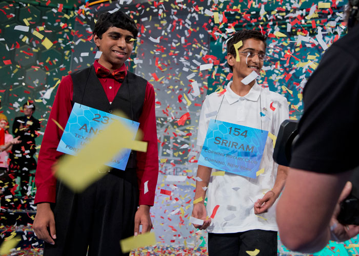 Co-champions reign supreme at Scripps National Spelling Bee