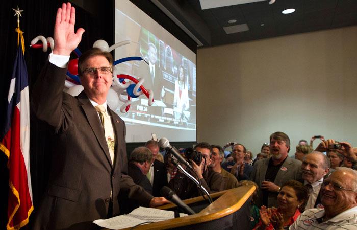 Dan Patrick proves tea party thriving in Texas