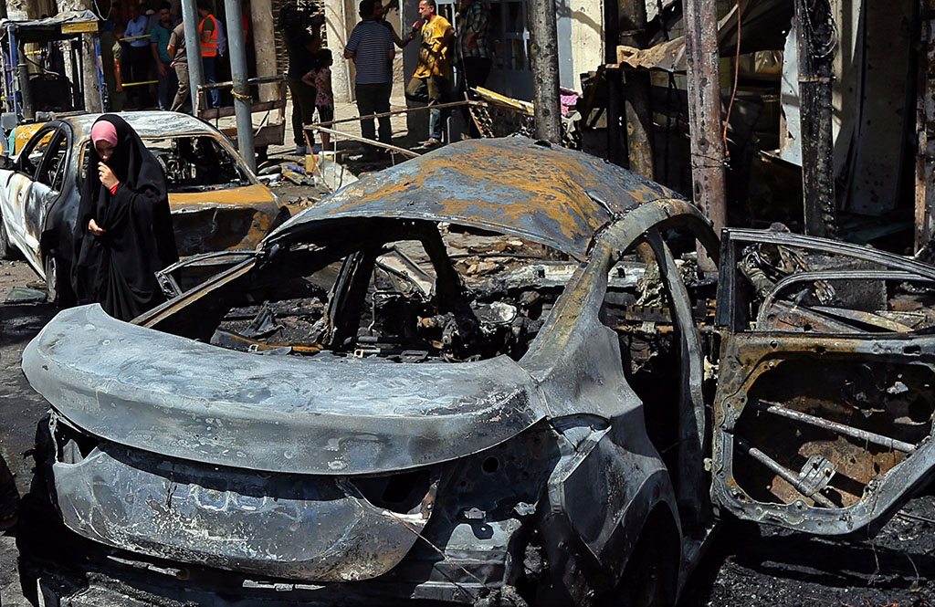 Bombings kill nearly 40 people across Baghdad