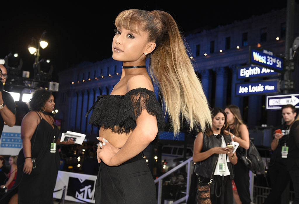 <p>Ariana Grande arrives at the MTV Video Music Awards on Aug. 28, 2016, at Madison Square Garden in New York.  On May 30, Grande announced  that a charity show will be held at Manchester, England's Old Trafford cricket ground. (Chris Pizzello/Invision/AP)</p>