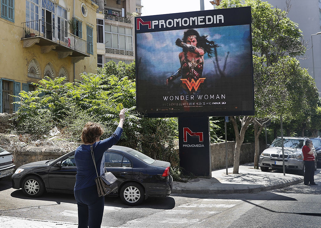 Lebanon bans 'Wonder Woman' movie for Israeli ties