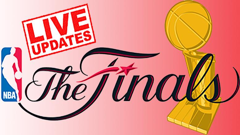 LIVE: NBA Finals Game 1
