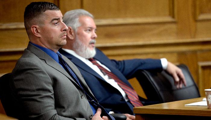 Colorado town unites during trial of former police officer in elk killing