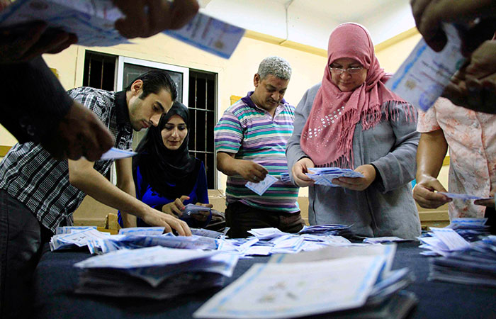 Egypt elects former military chief in subdued election turnout
