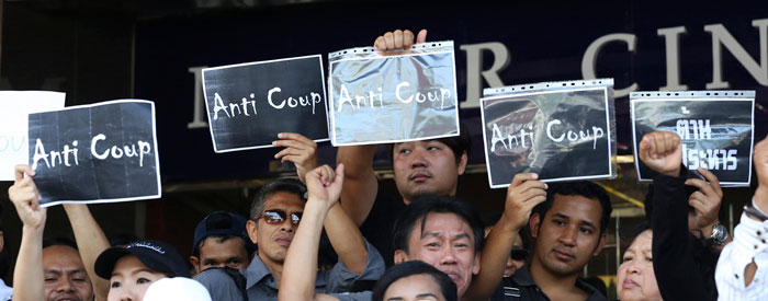Thai junta releases about 130 from custody on censorship condition