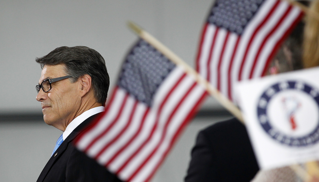 Second chance: Rick Perry announces 2016 presidential bid after 2012 disappointment