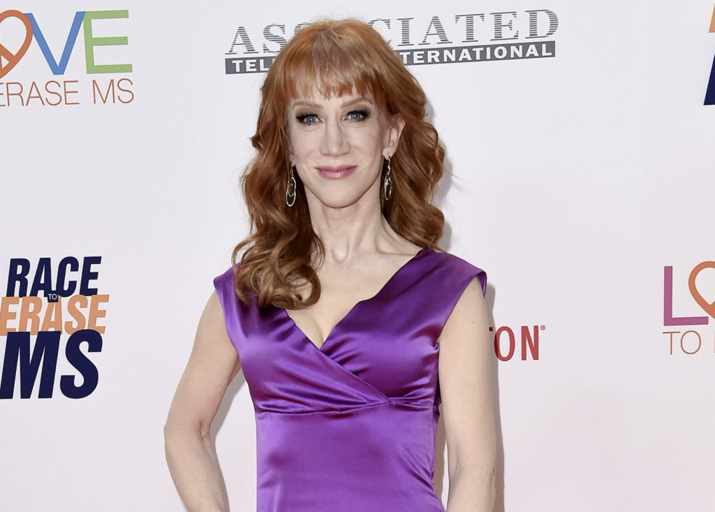 CNN sacks Kathy Griffin over bloody Trump video; Twittersphere berates actress