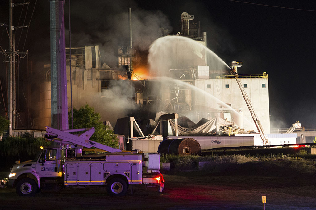 Feds previously reprimanded Wisconsin mill where deadly blast occurred