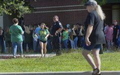 Students return to Santa Fe High School following mass shooting