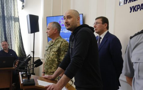 Dead or alive? 'Slain' Russian journalist turns up alive at news conference