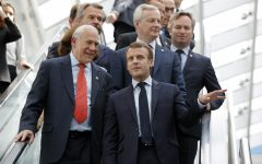 As US mulls tariffs, French President Emmauel Macron warns against trade war