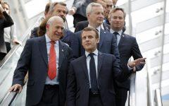 As US mulls tariffs, French President Emmauel Macron warns against trade war