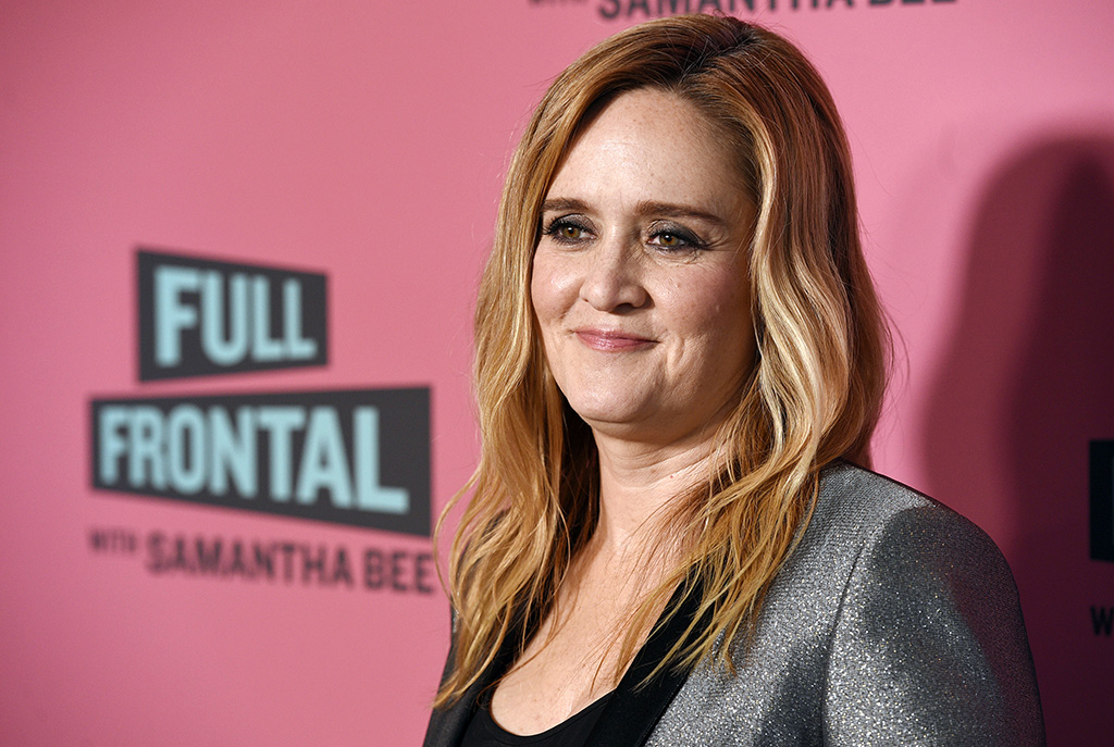 FILE - Samantha Bee, host of