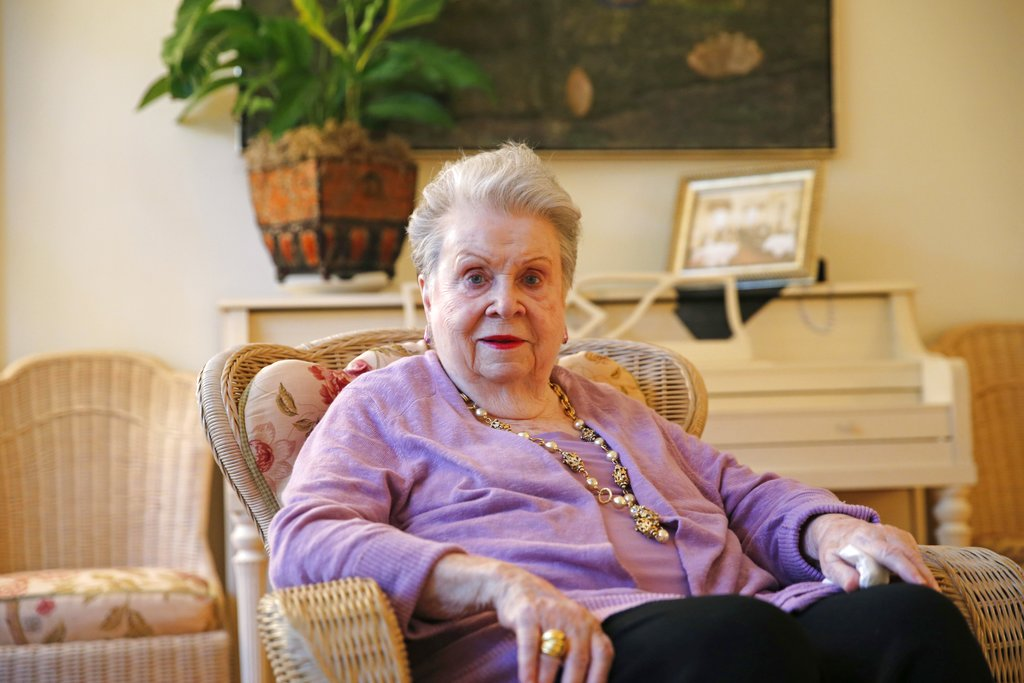Ella Brennan, whose home is located adjacent to Commander's Palace Restaurant in New Orleans. Brennan, who couldn't cook but played a major role in putting New Orleans on the world's culinary map, died Thursday, May 31. She was 92.
