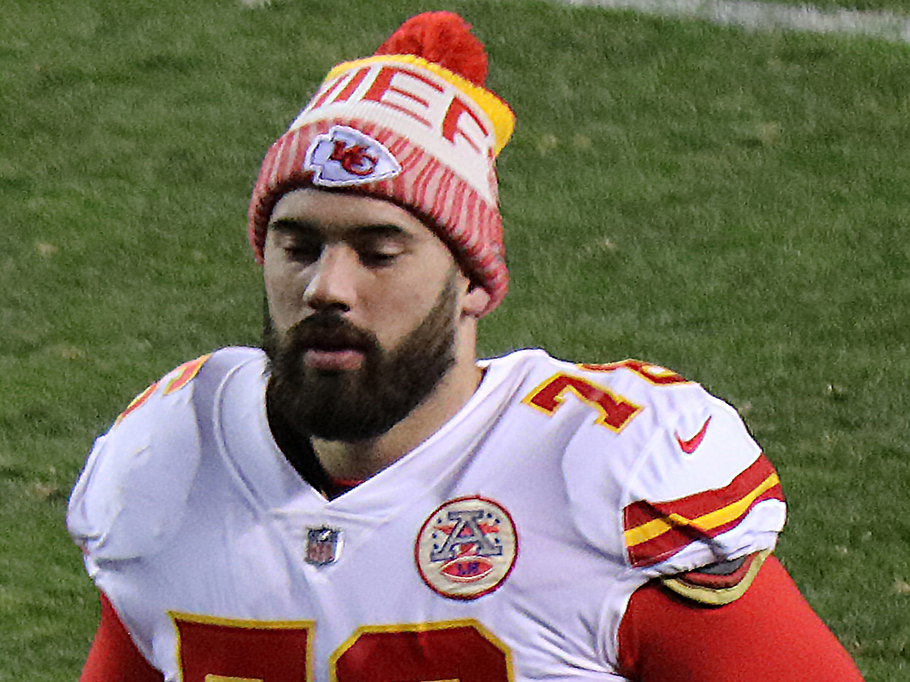 Chiefs offensive lineman Laurent Duvernay-Tardif, shown above, recently earned his medical degree.