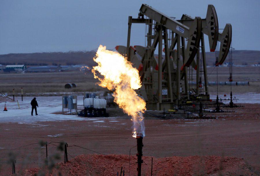 North Dakota oil pump