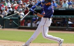Rangers' Gallo will miss time with oblique strain