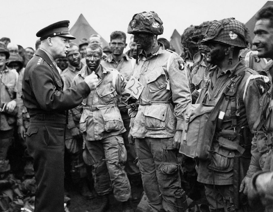 president+eisenhower+talking+to+troops