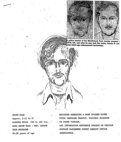 1976 police sketch from the Marinette County Sheriff's Office