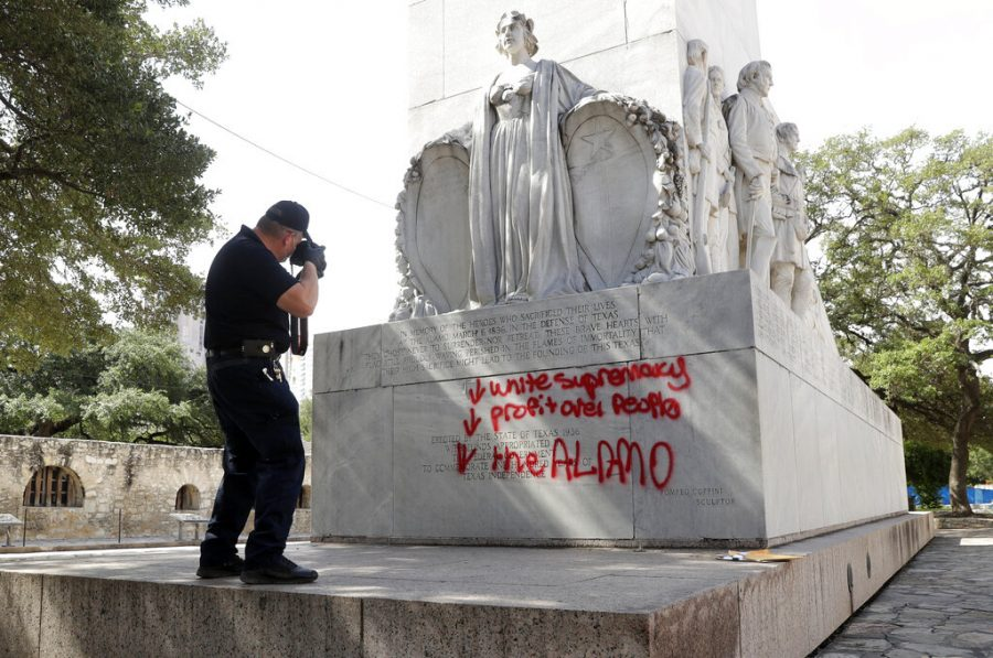 vandalized+monument