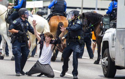 Austin police protest