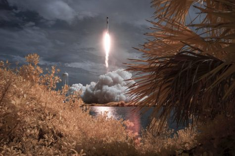 SpaceX launches from Cape Canaveral on May 30.