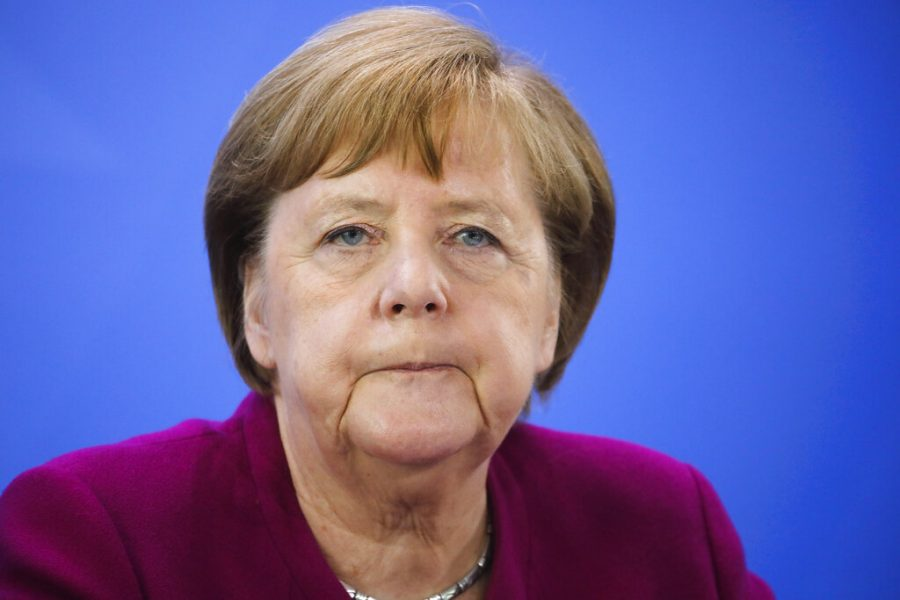 German+Chancellor+Angela+Merkel