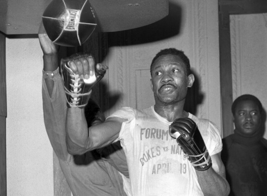 Photo of Curtis Cokes during his boxing career