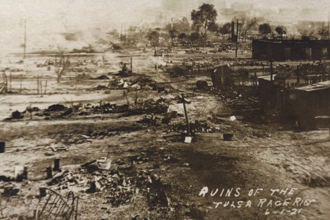 The aftermath of the Tulsa mob violence