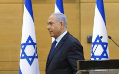Israel Prime Minister Netanyahu speaks to Parliament