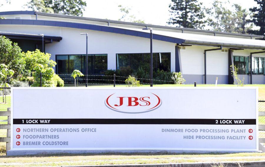 JBS meatwork facility in Australia.