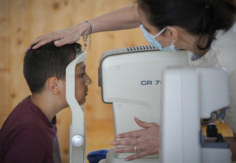 Romania+Children+Eye+Tests