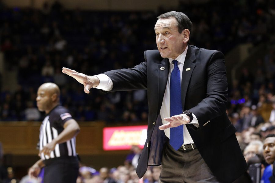 Coach K will leave Duke as the winningest mens college basketball coach in history.